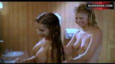 Tara Killian Nude in Bathroom – American Pie Presents Band Camp