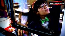 1. America Ferrera Flashes Panties in School Cafeteria – Ugly Betty