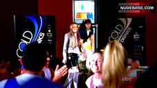 9. America Ferrera Flashes Panties in School Cafeteria – Ugly Betty
