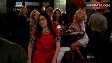 3. America Ferrera Shows Tits in Bra – Ugly Betty