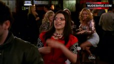 5. America Ferrera Shows Tits in Bra – Ugly Betty