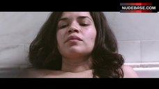 10. America Ferrera Nude Tits – X/Y