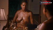 Queen Latifah Boobs Scene – Bessie