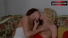 Brigitte Lahaie Hot Lesbian Petting – The Escapees