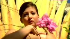 7. Maui Taylor Rubbing Her Nude Tits – Maui: Sex Goddess
