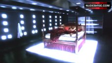 1. Lucy Lawless Hot Scene – Battlestar Galactica