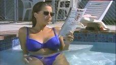 3. Crystal Owens Bikini Scene – Turn Of The Blade