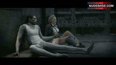 Julia Dietze Lingerie Scene – Iron Sky