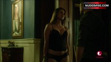 Sarah Lancaster in Sexy Lingerie – Witches Of East End