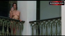 Teri Hatcher Completely Nude on Balcony – Heaven'S Prisoners