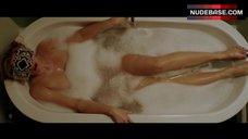 Natasha Henstridge Orgasm in Bathtub – The Black Room