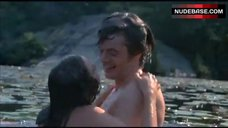 Barbara Hershey Nude Swims in Lake – The Pursuit Of Happiness