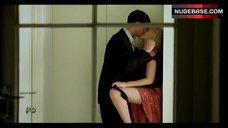 Scarlett Johansson Removes Panties – Match Point