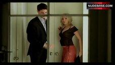 7. Scarlett Johansson Removes Panties – Match Point