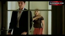 8. Scarlett Johansson Removes Panties – Match Point