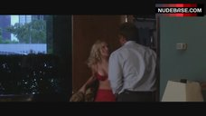 Scarlett Johansson in Red Lingerie – He'S Just Not That Into You