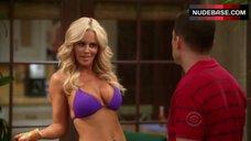 Jenny Mccarthy Bikini Scene – Two And A Half Men
