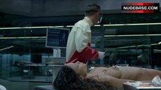 Thandie Newton Bare Tits and Hairy Bush – Westworld
