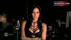 Nicole Scherzinger in Sexy Black Lingerie – Cd Usa