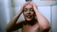 Linda Kerridge Flashes Boobs in Shower – Fade To Black