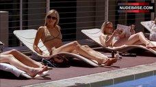 Malin Akerman Bikini Scene – Entourage