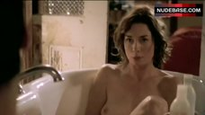 Julianne Nicholson Tits Scene – Flannel Pajamas