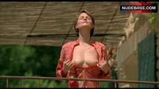 Charlotte Rampling Shows Boobs and Hairy Pussy – Swimming Pool