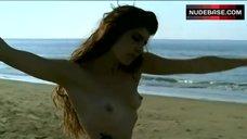 Regina Nemni Nude Dancing on Beach – Eros