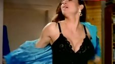 Mimi Rogers Shows Black Lingerie – Dream On