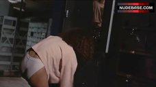 Betsy Russell Shows Panties – Cheerleader Camp