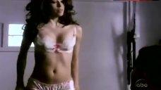 Eva Longoria in White Lingerie – Desperate Housewives