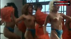 Tanya Papanicolas Topless Cheerleader – Blood Diner
