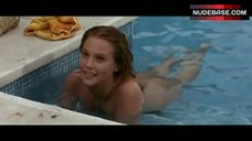Leigh Taylor-Young Nude in Pool – The Big Bounce