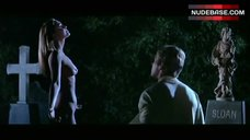 Leigh Taylor-Young Nude on Cementary – The Big Bounce