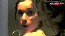 6. Charlie Bazire Nude in Shower – The Bathers