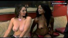 Nichole Mercedes Robinson Boobs Scene – Huff