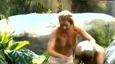 Katrin Brockmann Swims Topless in Lake – Verschollen
