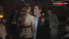 9. Famke Janssen Striptease Scene – Made