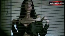 Famke Janssen in Bra Against Window – Nip/Tuck