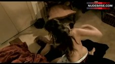 Erica Roby Topless Fighting – Halloween Night