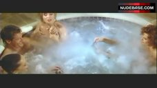 1. Lysette Anthony Topless in Jacuzzi – Switch