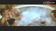 2. Lysette Anthony Topless in Jacuzzi – Switch