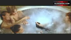 3. Lysette Anthony Topless in Jacuzzi – Switch