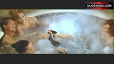 4. Lysette Anthony Topless in Jacuzzi – Switch