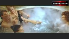 5. Lysette Anthony Topless in Jacuzzi – Switch