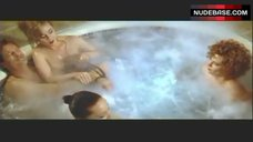 7. Lysette Anthony Topless in Jacuzzi – Switch