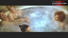 Lysette Anthony Topless in Jacuzzi – Switch