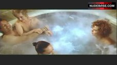 9. Lysette Anthony Topless in Jacuzzi – Switch