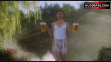 Julie Bowen in Sexy Lingerie with Beer – Happy Gilmore
