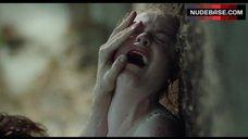 8. Evan Rachel Wood Rape Scene – Into The Forest